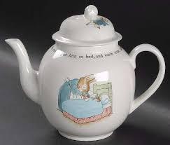 wedgwood rabbit tea set wedgwood rabbit at replacements ltd teapots