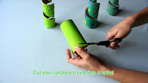 toilet paper roll christmas trees christmas crafts for kids