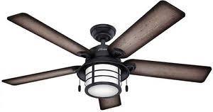hunter 54 coral gables indoor outdoor fan hunter 54 in indoor outdoor weathered zinc gray ceiling fan w