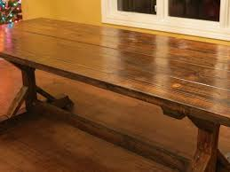 Simple Dining Table Plans How To Make A Country Kitchen Table Arminbachmann