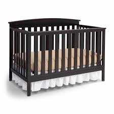 Affordable Convertible Cribs Delta Children Gateway 4 In 1 Convertible Crib Black Walmart