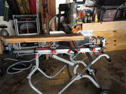 bosch gravity rise table saw stand bosch t4b gravity rise miter saw stand review pro construction