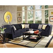 Coaster Sectional Sofa Coaster Keaton Transitional Five Piece Sectional Sofa With Tufting
