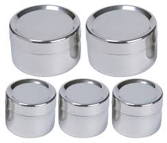 amazon com to go ware stainless steel snack containers tiffin