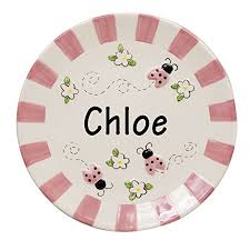 personalized ceramic plate personalized ceramic plates personalized 11 inch square ceramic