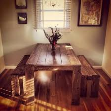 How To Build A Rustic Dining Room Table 25 Best Rustic Kitchen Tables Ideas On Pinterest Diy Dinning