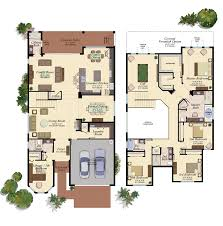 Florida Homes Floor Plans by Manchester New Home Plan In The Bridges Delray Beach Florida