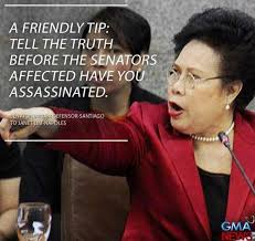 Janet Napoles Memes - sen miriam santiago grills napoles on senate hearing video
