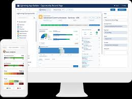 custom application development examples from salesforce platform