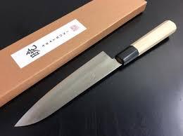 japanese folded steel kitchen knives gyuto japanese knife imports