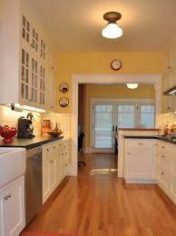 yellow kitchen walls white cabinets traditional design ideas pictures remodel and decor