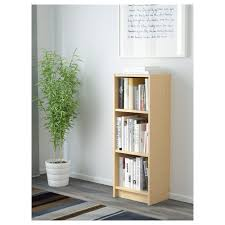 Narrow Black Bookcase by Billy Bookcase White Ikea