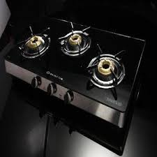 3 Burner Glass Cooktop Buy Bajaj Cgx3 3 Burner Glass Top Stove Gas With Cheapest Price At