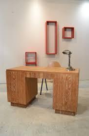 Meuble Normand Ancien Ancien Bureau Art Déco En Chêne Cérusé Fiche Table U0026 Petite Table