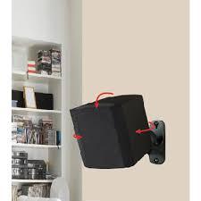 home theater with wireless rear speakers avf eak50b a surround sound speaker wall mounts set of 2