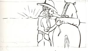 we like cowboys sketches u2013 the illustrationist