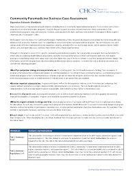 community paramedicine business case assessment tool center for