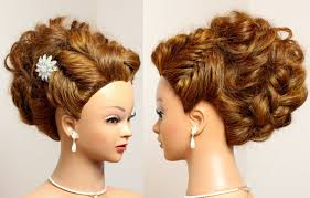 prom hairstyles for medium hair prom bridal updo hairstyle for long hair tutorial youtube