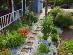 Sloping Backyard Landscaping Ideas Garden Design Garden Design With Sloped Backyard Design Ideas