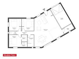 plan de maison en v plain pied 4 chambres plan de maison traditionnelle gratuit plain pied 3 en l 100m2