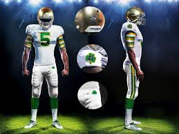 Notre Dame Football Memes - notre dame uniform concepts the shamrock series 2 0 one foot down
