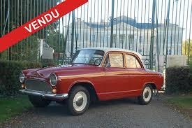 renault dauphine convertible jd vintage cars la rochelle