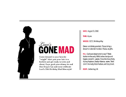invitation to mad men party men party mad men and mad men party