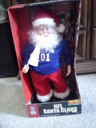 image new york giants nfl santa claus animated battery operated