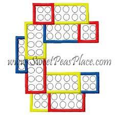 block letters block letter l applique embroidery design sweet