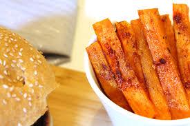 cuisiner patate douce poele burger d hiver au guacamole et frites de patate douce la vie lilloise