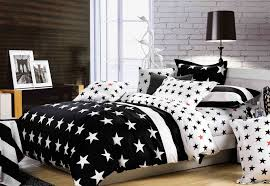 American Flag Comforter Set Bedroom Luxury Embossed Solid Oversized Bedding With Black And