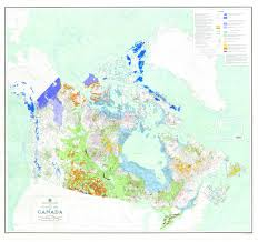 Canada Map by 106 Glacial Map Of Canada 1968 Science Gc Ca