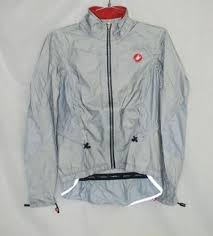cycling rain shell castelli women u0027s donna donnina silver cycling rain jacket size s