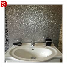glitter wallpaper bathroom 5 meters silver glitter home wallpaper europe style woven backing