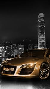 golden cars audi car wallpaper iphone android car audi more on wallzapp