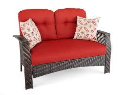 furniture mesmerizing wicker loveseat for outdoor or indoor