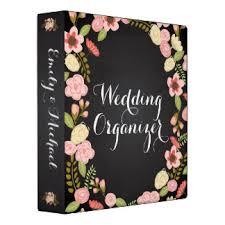 wedding organizer binder wedding organizer custom binders zazzle