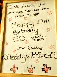 ed sheeran u0027s 22nd birthday card capital