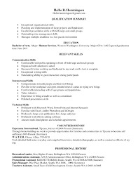 summary of skills resume relevant skills resume template organizational skills examples for resume