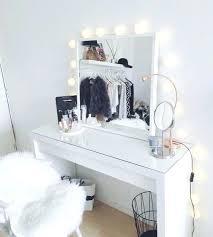 mirrored makeup vanity table vanity table set with mirror make up desk best makeup desk ideas on