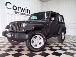 used jeep rubicon sale used jeep wrangler for sale in springfield mo cars com