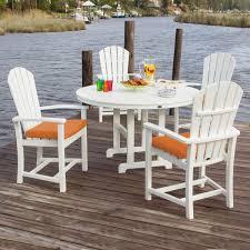 Coast Outdoor Furniture by Polywood Palm Coast 5 Piece Dining Set Polywood Palm Coast