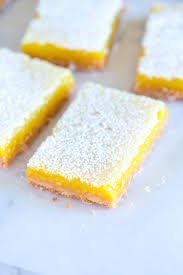 lemon bars recipe with buttery crust