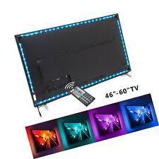 nexlux led light strip usb powered computer tv backlight kit rgb colour change 5050 led