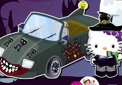 kitty halloween car wash kitty games