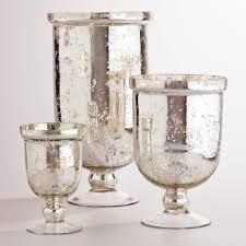Hurricane Candle Holders Mercury Glass Hurricane Candle Holder Mirrored Candle Holders To