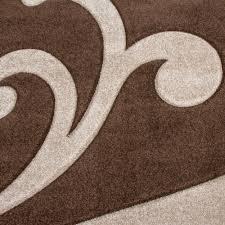 Wohnzimmer Braun Beige Einrichten Wohnzimmer Teppich Braun Home Design Und Möbel Ideen
