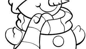 coloring page snowman family coloring pages snowman babysplendor com