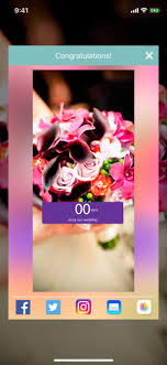 these free phone wallpapers to countdown your wedding wedding countdown on the app store