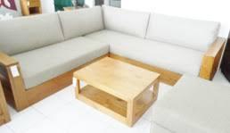 canapé d angle bois modèle canape d angle bois